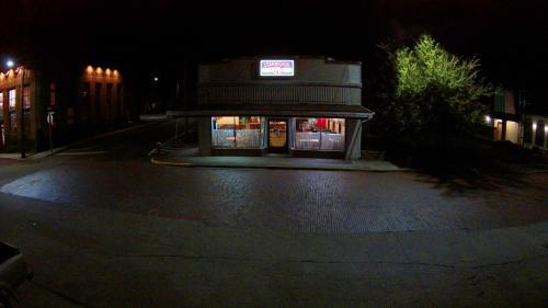 Stanwood Cafe at Night