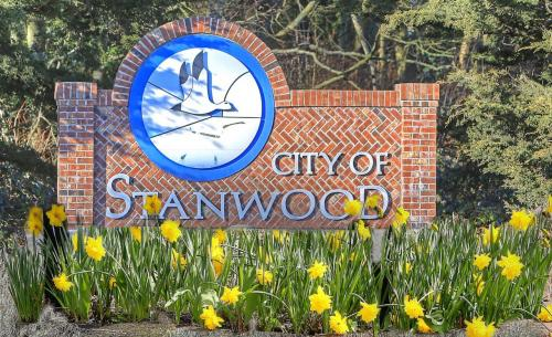 City of Stanwood Entrance Sign