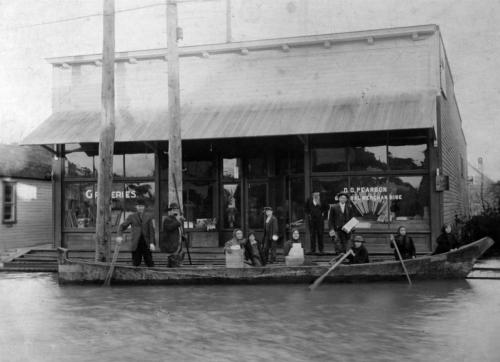Historical Photo of 1908 Flood